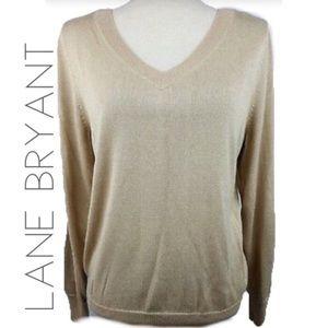 3/$50 Lane Bryant shimmer knit sweater 18 20 2X